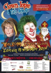Clown Jopie en Tante Angelique fanclubdag 2014
