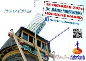 Poster Rabo Molendag Hoeksche Waard