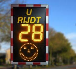 snelheids-informatie-display