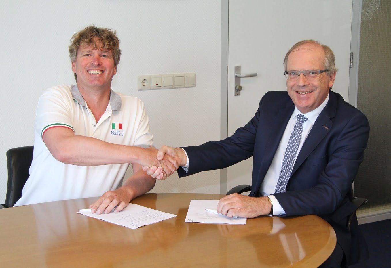 20160512 Ondertekening overeenkomst bouw woningen Breestraat 6 in Westmaas