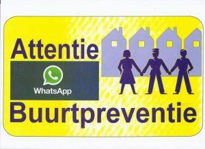 bordje-attentie-buurtpreventie-whatsapp