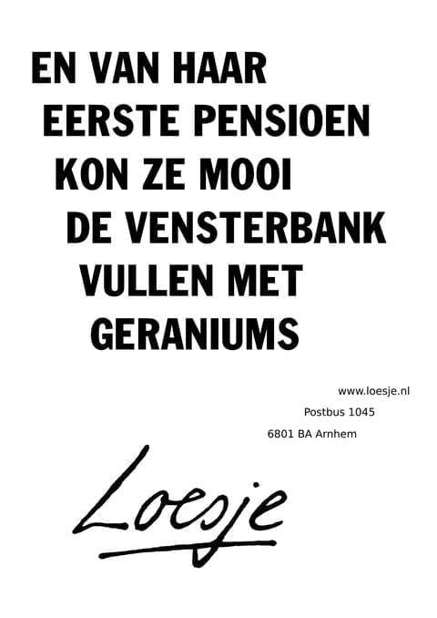 Citaten Voor Afscheid : Kleine pensioenen vanaf bundelen hoeksch nieuws