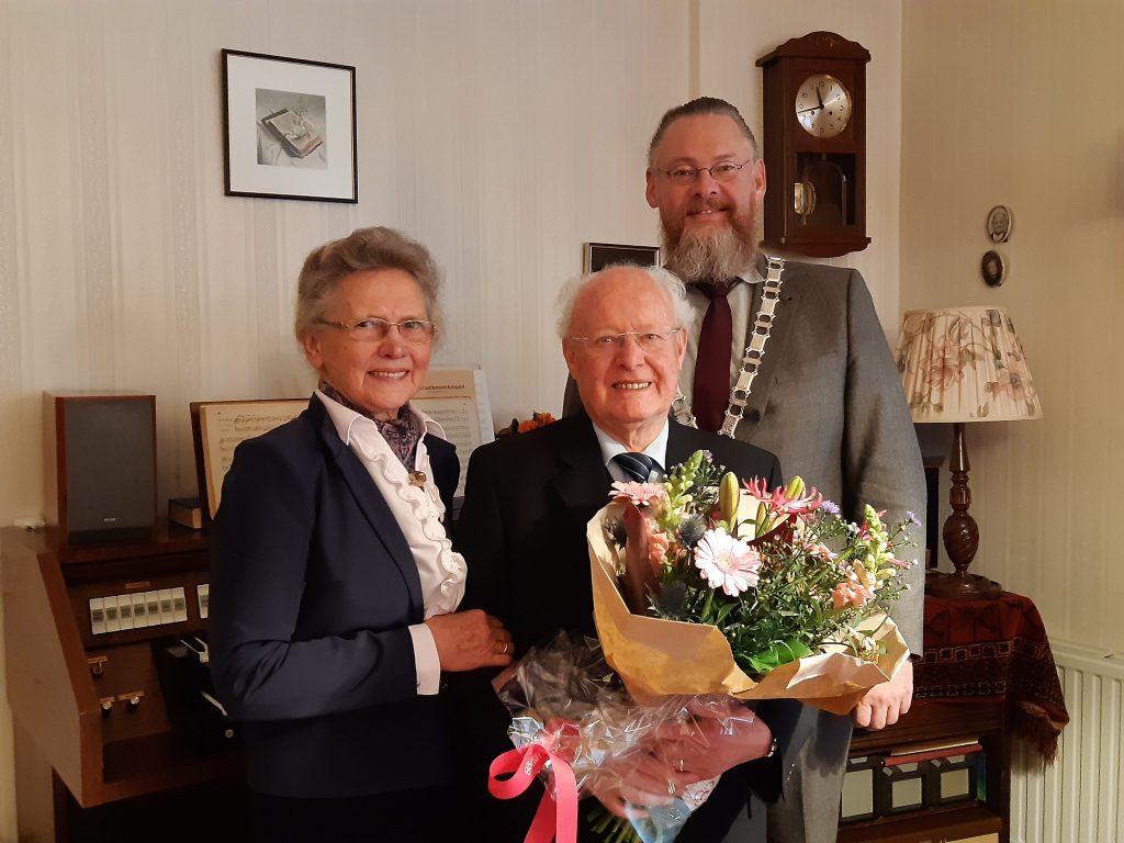 Echtpaar Moree uit Nieuw-Beijerland 60 jaar getrouwd - Hoeksche Waard - Hoeksche Waard Nieuws